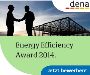 Vorreiter gesucht: Energy Efficiency Award 2014